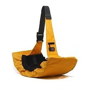 Kyjen 2515 Pet Sling Dog Carrier Adjustable Pet Carrier, Small, Orange