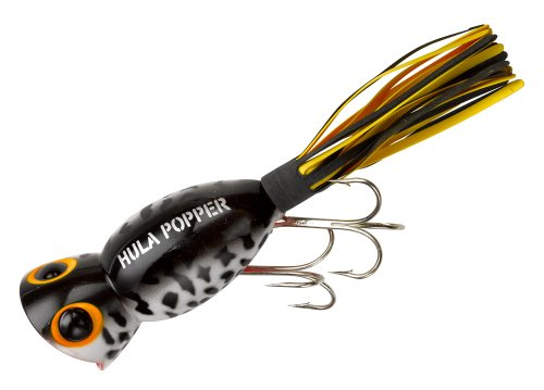 Fishlander lures flies arbogast lure company hula for Popper fishing lure