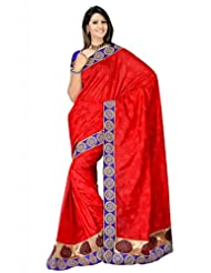 Sehgall Saree Indian Bollywood Designer Ethnic Professional Designer Georgette Saree Red