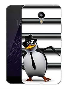 "Penguin Trendy Printed Designer Mobile Back Cover For ""Google Infocus M2 Note"" By Humor Gang (3D, Matte Finish, Premium Quality, Protective Snap On Slim Hard Phone Case, Multi Color)"
