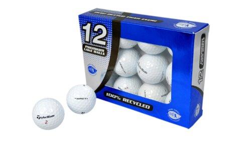 Second Chance Golfbälle 12 Taylormade Burner Lake A-Qualität, weiß, PRE-12-TM-BUR
