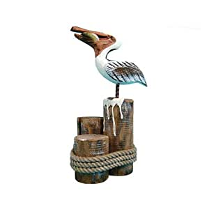 Puzzled Happy Pelican Decor Health Personal