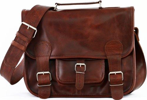 2737bea550 LE CARTABLE (M) cuir souple couleur brun d'automne format (A4) PAUL MARIUS