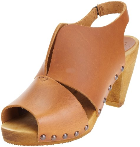 Sanita Women's Rola Open Toe Heel Nature 455008 4 UK