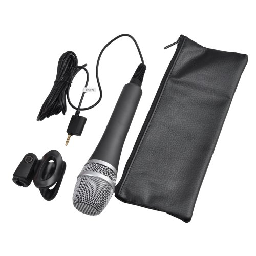 Ik Multimedia Irig Mic Microphone With Ik Multimedia Iklip Mini Music Stand Adapter