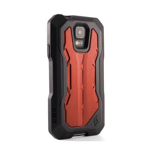 Elementcase Recon Pro Case for Galaxy S5 Black/Red SMS5-1012-KR00