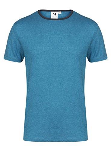Ex Topman -  T-shirt - Uomo blu Small
