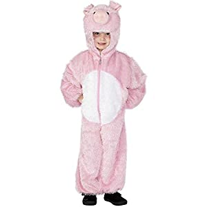Smiffy'S Pig Costume With Hood Childs (Medium)