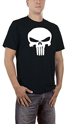 Touchlines Punisher, T-Shirt Uomo, Black 13, Large