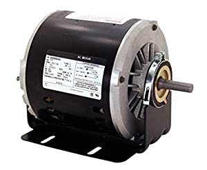Century SVB2054 1/2-1/6 HP, 1725/1140 RPM, 56Z Frame, CCWLE Rotation, 1/2-Inch by 1-5/8-Inch Flat Shaft Evaporative Cooler Motor by Century Electric/AO Smith Motors Co