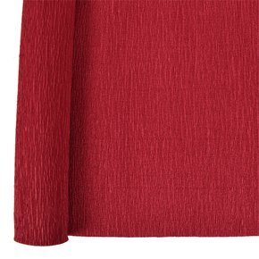 Just Artifacts Crepe Paper Roll - 20in Length - Color: Dark Red - Premium Quality Crepe Paper for DIY and Craft Projects (Blue Crepe Paper Sheets compare prices)