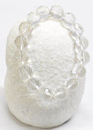 Large Clear Crystal Bracelet