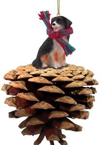 Bernese Mountain Dog Dog Pinecone Ornament
