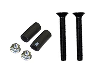 PowerMadd 34275 Rubber Replacement Steel Bar End Kit