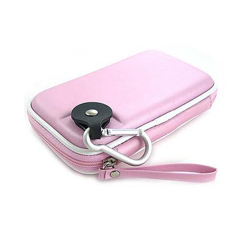 Kroo CNDSZNPL-HD Western Digital My Passport Portable Hard Drive EVA Case (Baby Pink)