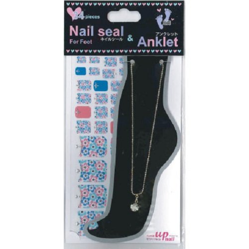 Nail seal & Anklet for Foot ネイルシール & アンクレット NSLーA002