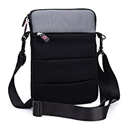 Kroo 13-Inch Notebook Sleeve with Shoulder Strap and Front Zipper Pocket (ND13R2K1-9029)
