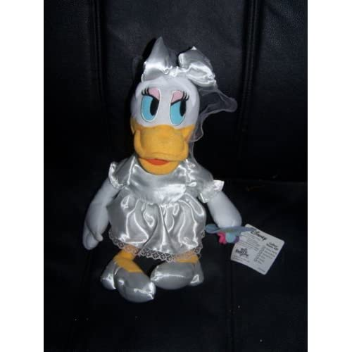 Amazon.com: Disney Daisy Duck Bride Plush 14""