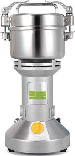 Chinese Medicine Grinder Food Mill   Large Scale 200g Stainless Steel Electric Grinding Food Machine   110V USA /220V   Grain Pulverizer   CE Certification   Major Grinding Herb & Spice Mill (Chinese Medicine Grinder compare prices)