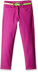 612 League Girls Trousers (ILW00S540015C_Mauve_Sr 13-14Y)