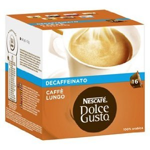 Shop for Nescafé Dolce Gusto Caffè Lungo Decaf (16 Capsules) - Dolce Gusto