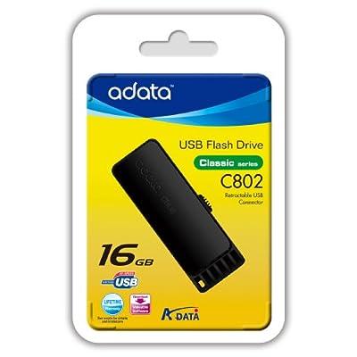 ADATA Classic Series C802 16 GB USB 2.0 Flash Drive AC802-16G-RBB
