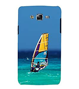 printtech Boat Sea Nature Back Case Cover for Samsung Galaxy Core i8262 / Samsung Galaxy Core i8260