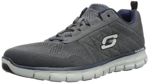 Skechers SynergyPower Switch, Sneakers Uomo, Grigio (CCNV), 45 EU