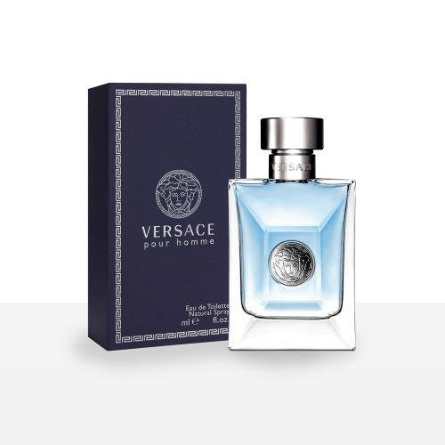 Versace pour Homme profumo per 100 ml Versace Eau de Toilette uomo