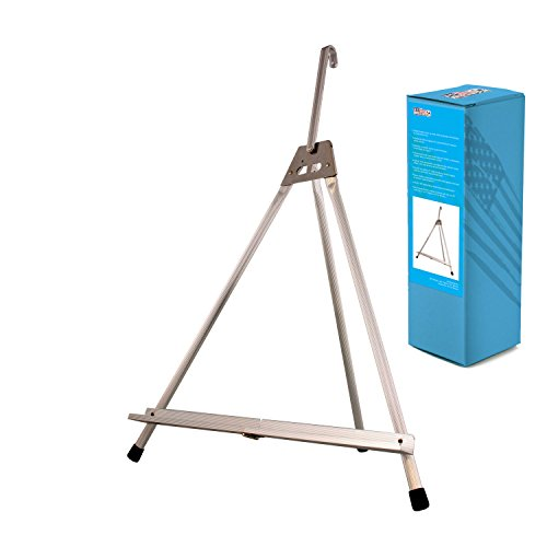 US Art Supply Table Top Aluminum Tri-Pod Artist & Display Easel (Large - Single Arm) (Tabletop Easel Metal compare prices)