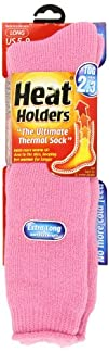 Ladies Light Pink Extra Long Thermal Heat Holders  Size