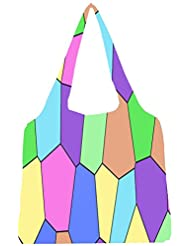 Snoogg Digi Stones 2386 Womens Jhola Shape Tote Bag
