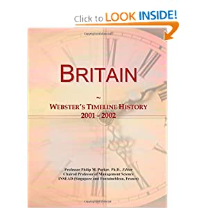 Britain: Webster's Timeline History, 2001 - 2002 Icon Group International