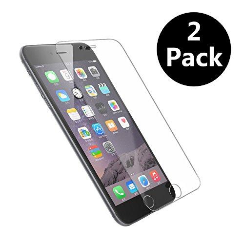 Tenmangu 2 Pack iPhone 6/6S Pellicola Protettiva in Vetro Temperato Screen Protector Film Ultra Resistente (0,33mm HD Alta trasparente)