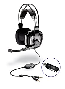 Plantronics 3D Surround Sound Gaming Headset (USB Full Range Stereo) (Audio 770)