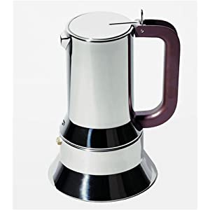 Alessi 6 Cup Stainless Steel Espresso Maker 9090/6