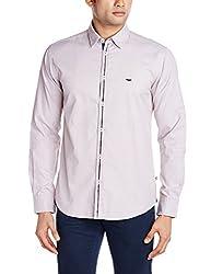 Park Avenue Men's Casual Shirt (8907117077937_PCSX00751-O4_40_Medium Brown)