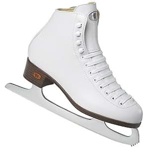 Riedell 110 Figure Skates With GR4 Blade (Ladies 8.0 Medium)