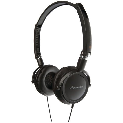 Pioneer Features Foldable Construction In A Thin-Style Housing Design With Large 40Mm Driver Unit Simulatedleather Ear Pads.