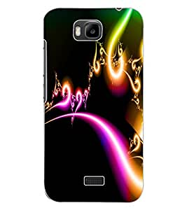 ColourCraft Lovely Digital Design Back Case Cover for HUAWEI HONOR BEE
