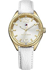 Tommy Hilfiger Women's Analog Watch With Leather Strap - TH1781517J