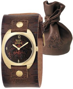 7 pirates of the caribbean fossil watch dead mans chest ll1015 model ll1015 size around the wrist approx with 16 21cmmaterial stainless steel body leather belt part freerunsca Choice Image