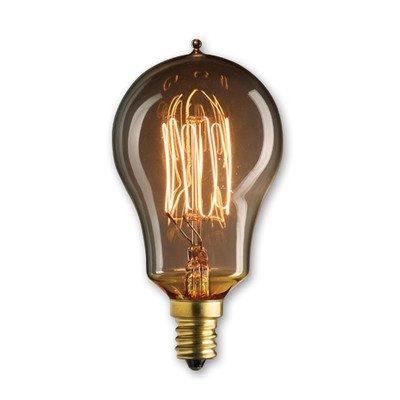 25W Nostalgic Incandescent Edison A15 Candelabra Base Bulb [Set Of 3]