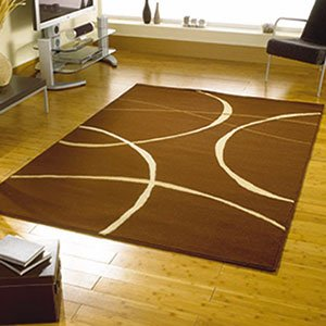 brown swirls bedroom lounge rugs modern cheap and affordable rug