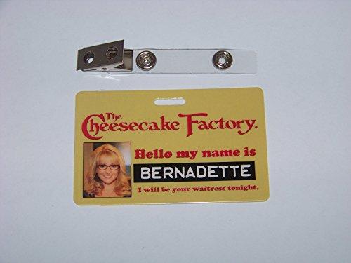 the-big-bang-theory-bernadette-cheesecake-factory-id-karte-id-badge
