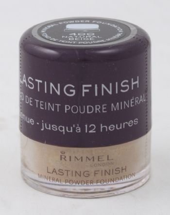 Rimmel Lasting Finish Mineral Powder Foundation- natural beige