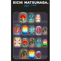 ウイングビート EICHI MATSUNAGA ネイルチップ Nー005