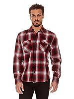Biaggio Camisa Charvet (Rojo / Negro)