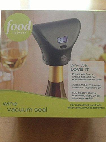 Food Network Wine Vacuum Sealer
