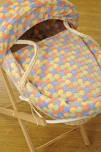 Isabellaalicia Super Cuddle Soft Sweetie Pop Moses Basket and Stand